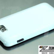 Weiße Schutzhülle für Samsung Galaxy Note N7000 Hardcover