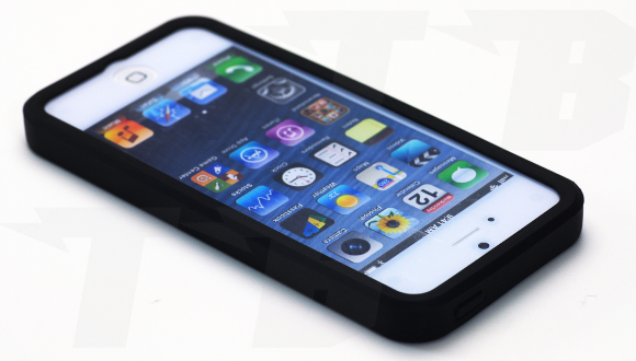 silikon reifen h lle f r das apple iphone 5 5s technik blitz. Black Bedroom Furniture Sets. Home Design Ideas