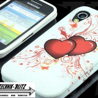 Herzen Schutzhülle Samsung Galaxy Ace