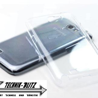 Glasklar Hardcover für Ihr Samsung Galaxy Note 2 N7100