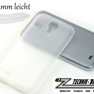 Ultra-Thin Schutz-Hülle Weiß für Samsung Galaxy S4 i9500 / i9505 LTE