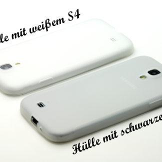 Schutz-Hülle Transparent / Matt für Samsung Galaxy S4 i9500 / i9505 LTE