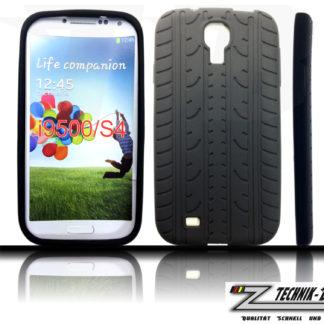Silikonhülle für Galaxy S4 i9500 i9505 im Reifendesign