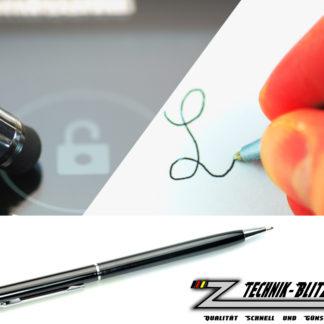 Touchscreen Kugelschreiber Stylus Schwarz