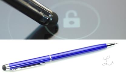 Touchscreen Kugelschreiber Stylus Blau
