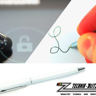 Touchscreen Kugelschreiber Stylus Weiß