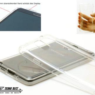 Silikon Schutzhülle durchsichtig für Samsung Galaxy S4