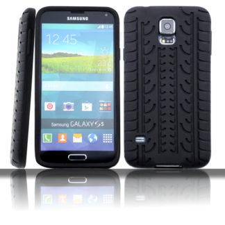 Silikonhülle für Samsung Galaxy S5 Reifen