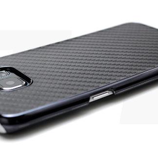 Carbon Hülle Schwarz für Galaxy S5 g-900F Neo