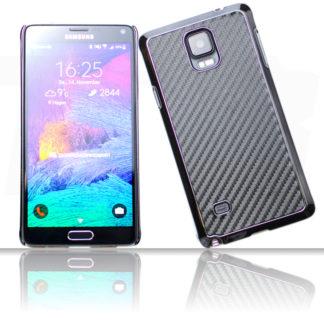 Carbon Schutzhülle für Samsung Galaxy S5 Mini G800F in Schwarz