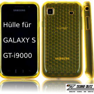 S1 Diamant Schutzhülle für Galaxy S i9000 Gelb
