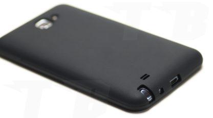 Silikonhülle Schwarz für Samsung Galaxy Note N7000