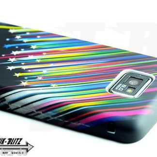 Samsung Galaxy S2 Hülle Sterne Schwarz Flexibel