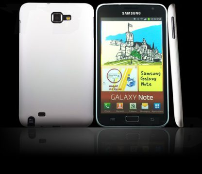 Ultrathin Hülle Weiß für Samsgung Galaxy Note 1