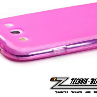 Schutzhülle für Samsung Galaxy S3 i9300 in Neon Pink