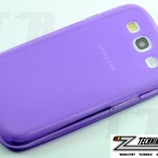 Lila Schutzhülle für Samsung Galaxy S3 i9300