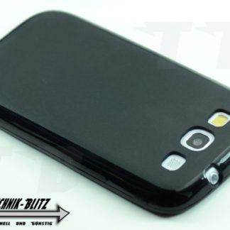 Schwarze Schutzhülle für Samsung Galaxy S3 i9300
