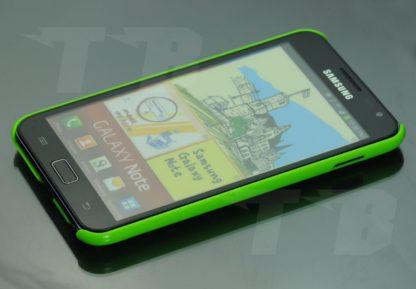 Neongrüne Schutzhülle für Samsung Galaxy Note N7000 Note 1
